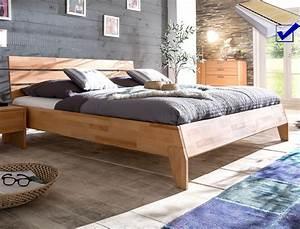 Schlafzimmer Komplett 140x200 : massivholzbett divico 140x200 kernbuche ge lt lattenrost ~ Whattoseeinmadrid.com Haus und Dekorationen