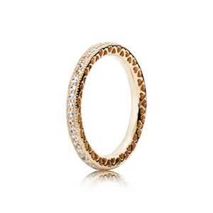 pandora wedding rings hearts of pandora ring clear cz 14k gold 150181cz rings pandora