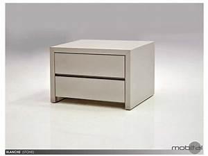 Table De Chevet Blanche : table de chevet blanche tables de chevet mobital ~ Teatrodelosmanantiales.com Idées de Décoration