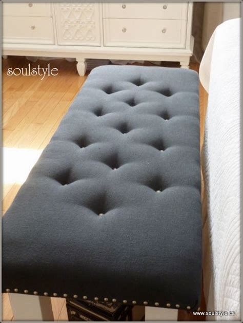 how to upholster a bench diy upholstered bench bench tutorials and tufted bench