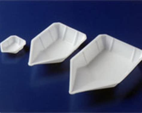 Micro Weighing Boat polystyrene weighing vessels anti static