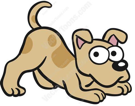 Light Brown Dog Stretching