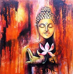 gautam buddha painting for living room - Google Search ...