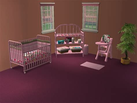 chambre sims 3 chambre de bébé hello fashion sims