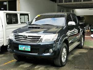 Used Toyota Hilux 4x4 G Local 2014 Hilux 4x4 G Local for sale Pasig City Toyota