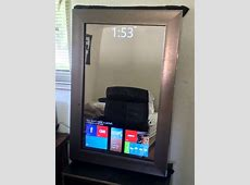 Smart Mirror for 79$ Everything DIY!!! Home tech, DIY