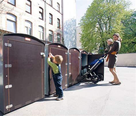 Mini Garage Für Kinderwagen neue initiative f 252 r mieter mini garage gegen treppenhaus