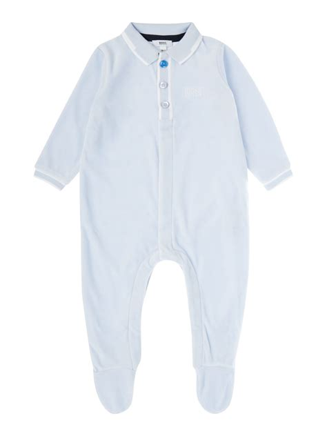 hugo boss baby boys pyjamas blue bluewater