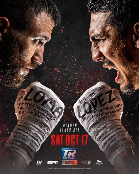 Lomachenko vs Lopez date, time, card - how to watch ...