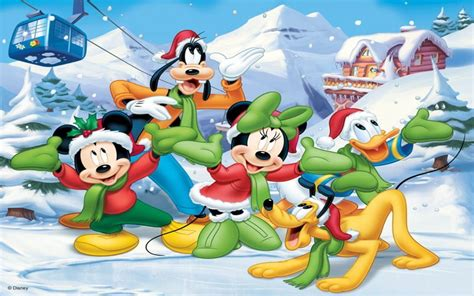 Mickey Mouse And Friends Christmas Winter Trefl Puzzla