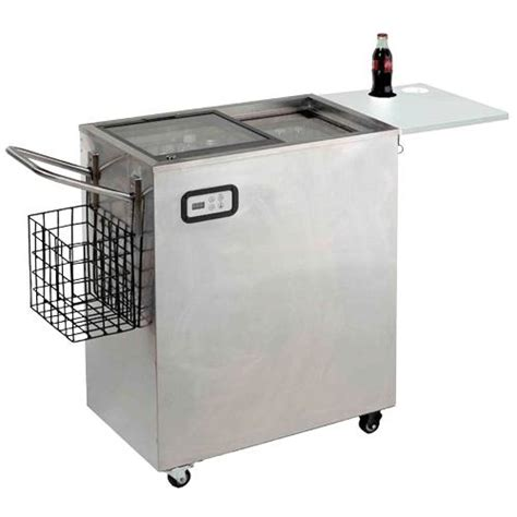 avanti orc2519ss 2 5 cuft portable outdoor beverage cart