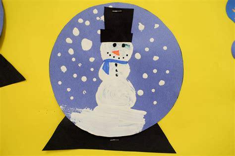 mrs ricca s kindergarten snow globe craft 497 | Snow Globes2 edit