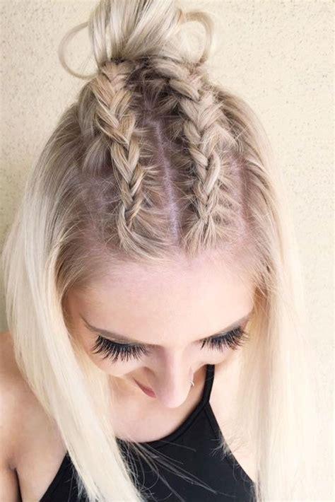 dazzling ideas  braids  short hair simple