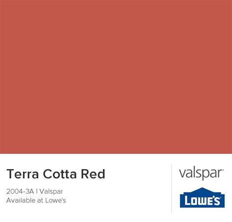 terra cotta from valspar paint colors