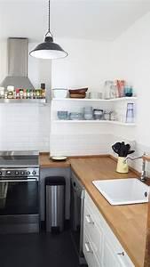 les petites etageres de cuisine le blog d39annouchka With deco cuisine pour meubles scandinaves
