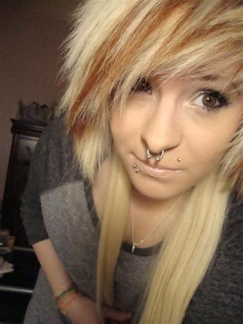 25 Best Ideas About Brown Emo Hair On Pinterest Brown