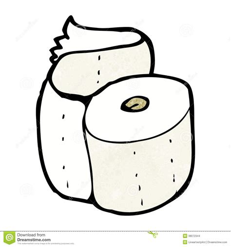 cartoon rolls cartoon toilet roll stock illustration image of hand