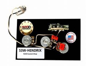 920d Fender Strat Wiring Harness Hendrix 60 U0026 39 S 3 Way W  Blender Treble Bleed