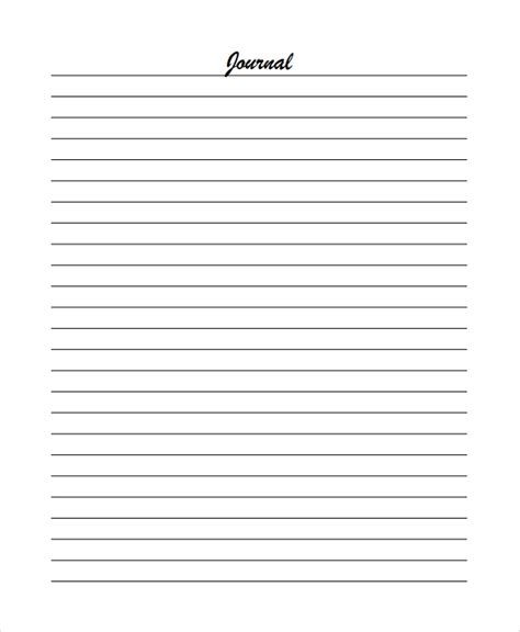 sample lined paper templates   ms word