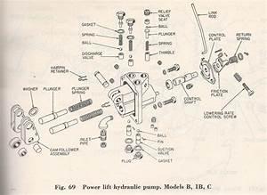 Allis Chalmers 1942 C Hydraulic Pump