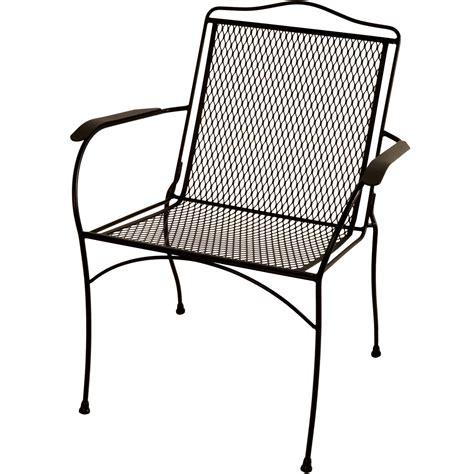 Arlington House Sturdy Stack Chair, Charcoal Walmart