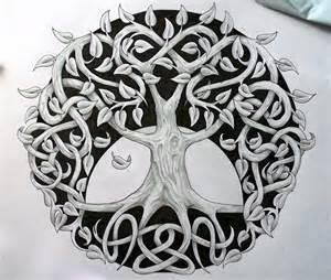 Celtic Tree of Life Tattoo Design
