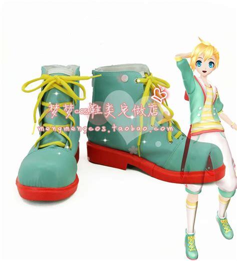 made len vocaloid 2 project x kagamine len shoes boots