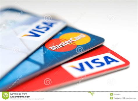 Check spelling or type a new query. VISA And Mastercard Credit Card Editorial Stock Image - Image: 22526549