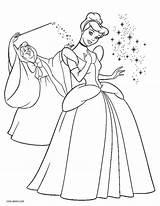 Cinderella Coloring Printable Disney Cinderela Princess Rags Colorir Colouring Sheets Cool2bkids Cinderalla Template Colorironline Mouse Desenhos sketch template
