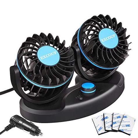 12 volt lüfter excoup 12v ventilator auto mini ventilatoren mit