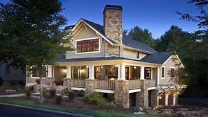 Craftsman House Plans Craftsman Home With Wrap Around