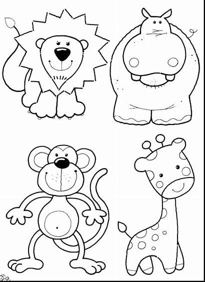 Coloring Pages Animal Animals Printable Getcolorings Colorings