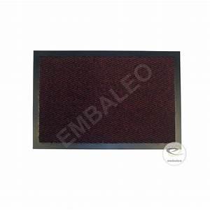 tapis antipoussiere 40x60 cm paillasson bordeaux With tapis couleur bordeaux