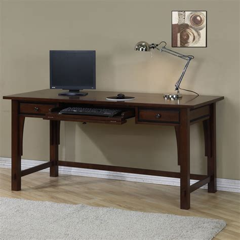home office writing desk small writing desk  drawers