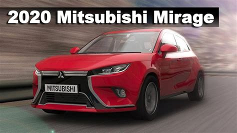 Mitsubishi Space 2020 by All New 2020 Mitsubishi Mirage Preview