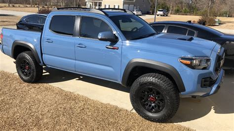 sold cavalry blue trd pro mt  sc tacoma world