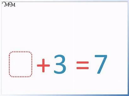 Addition Missing Number Problems Problem Numbers Maths
