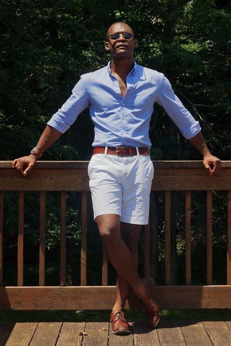 Stylist Tips For Men How Wear White Shorts