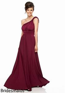 new arrival burgundy bridesmaid dresses 2015 elegant one With burgundy wedding dresses gowns new