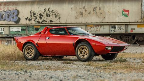 lancia stratos sells   sky high  carscoops