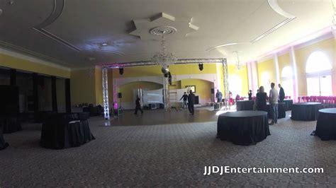 massive wedding reception dj setup northern virginia