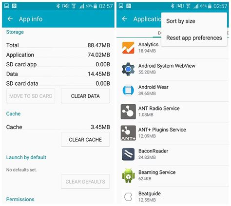 clear cache android samsung galaxy 10 ways to speed up the galaxy note 4 androidpit