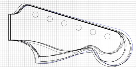stratocaster headstock template can you sculpt a small strat headstock modding discussions on thefretboard