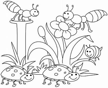 April Coloring Pages Preschoolers Month Hello Printable
