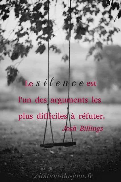 belles citations silence proverbes silencieux