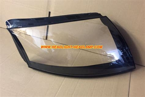 audi tt headlight lens cover foggy cracked scratched