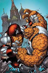 The Unstoppable Colossus vs The Thing by Dale Keown ...