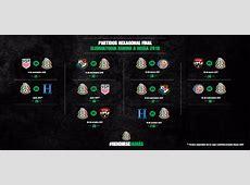 Partidos para el Hexagonal Final de CONCACAF rumbo a Rusia