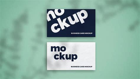 shadow overlay business card mockup css author