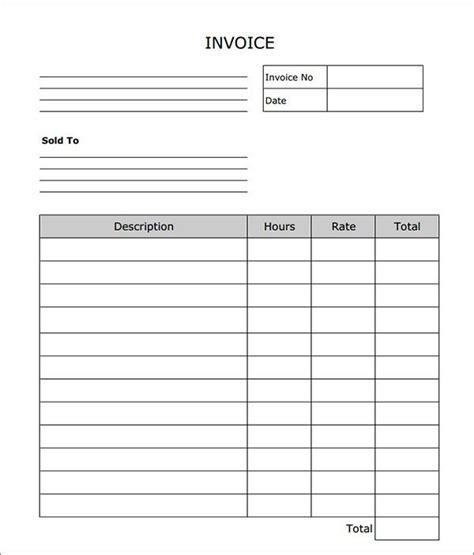 carpenter invoice templates images  pinterest
